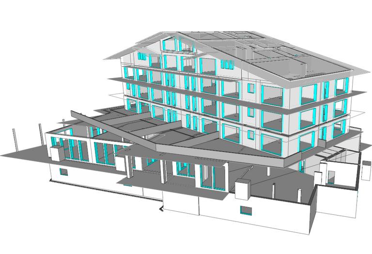 Direction des travaux valais for Logiciel maquette 3d